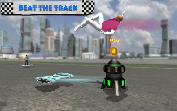 Hoverboard Riding Extreme Race screenshot 4
