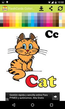 FlashCards Coloring for Kids screenshot 2