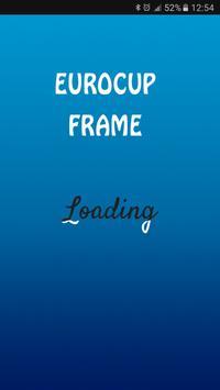 Euro France 2016 Frame poster