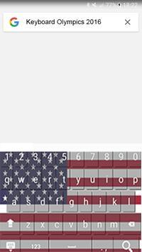 Keyboard Olympics 2016 apk screenshot