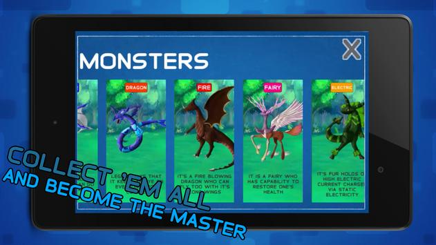 Monsters Tournament Challenge apk screenshot