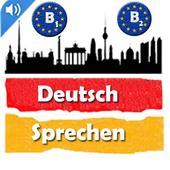 Deutsch Sprechen b1, b2 icon