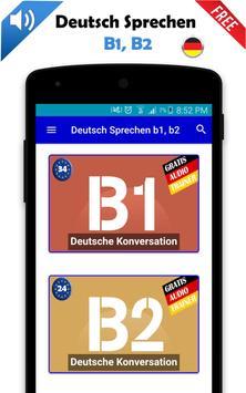 Deutsch Sprechen b1, b2 poster