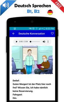 Deutsch Sprechen b1, b2 screenshot 2
