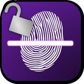Fingerprint Lockscreen Sim icon