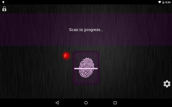 Fingerprint Lockscreen Sim screenshot 6