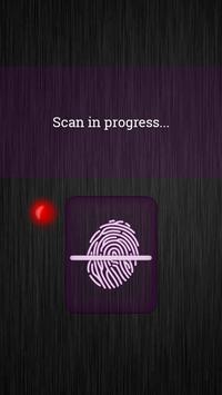 Fingerprint Lockscreen Sim poster