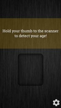 Age Scanner poster