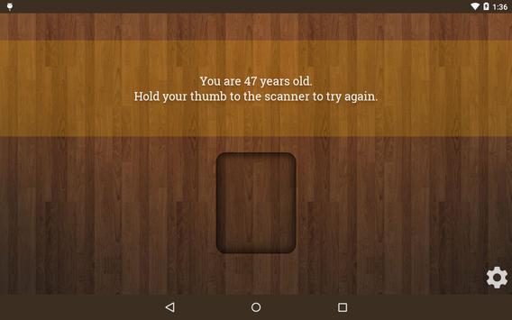 Age Scanner screenshot 8