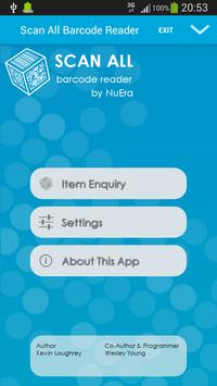 NuEra ID Barcode Reader poster