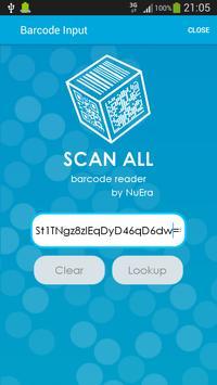 NuEra ID Barcode Reader apk screenshot
