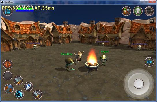 Skellitown: Multiplayer battle poster