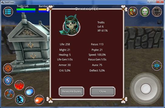 Skellitown: Multiplayer battle apk screenshot