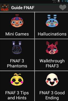Guide for FNAF screenshot 1
