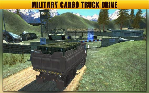 Army Truck Driving Simulator 17 - Transport Game poster
