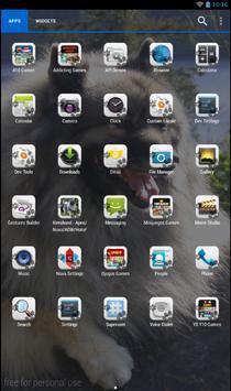 Keeshond Theme - Nova/ADW/GO screenshot 1
