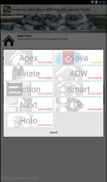 Keeshond Theme - Nova/ADW/GO screenshot 2
