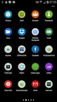 S6 Theme Launcher apk screenshot