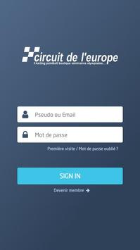 Circuit de l'Europe plakat