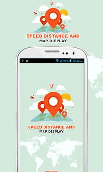 Speed Distance & Map Display poster