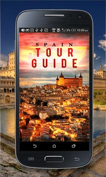 Spain Tour Guide poster