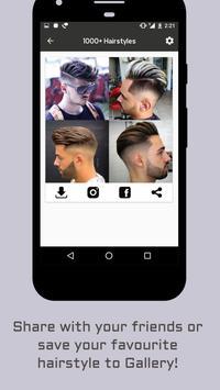 1000+ Boys Men Hairstyles and Hair cuts 2018 apk screenshot