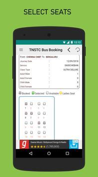 TNSTC Bus Booking App screenshot 4