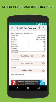 TNSTC Bus Booking App screenshot 5