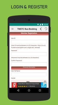 TNSTC Bus Booking App screenshot 1