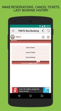 TNSTC Bus Booking App screenshot 2