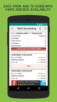 TNSTC Bus Booking App screenshot 3