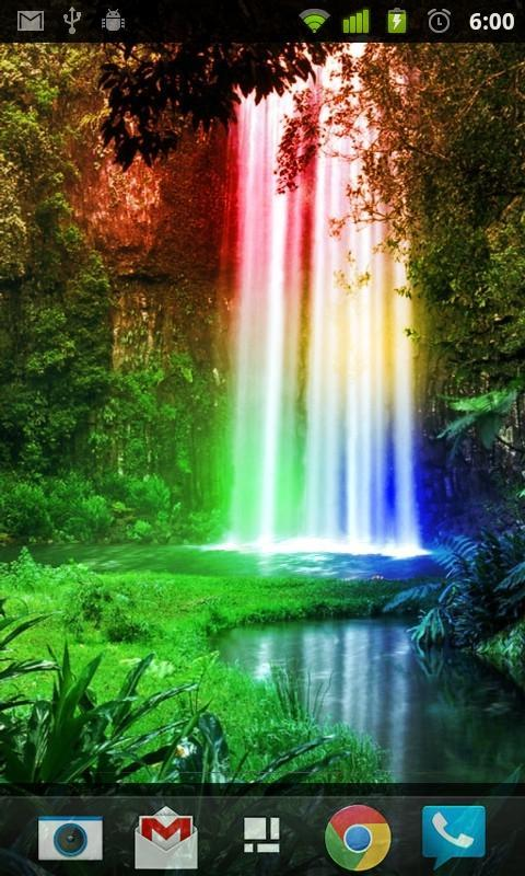 Rainbow Waterfalls L Wallpaper For Android Apk Download