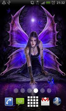 Gothic Fairy Live Wallpaper Poster