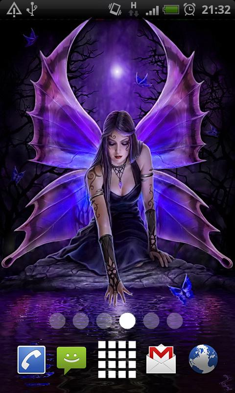 Gothic fairy live wallpaper apk download free personalization app for android - Fairy wallpaper for android ...