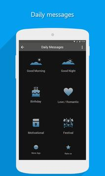 Daily Messages poster