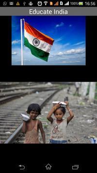 Educate India poster