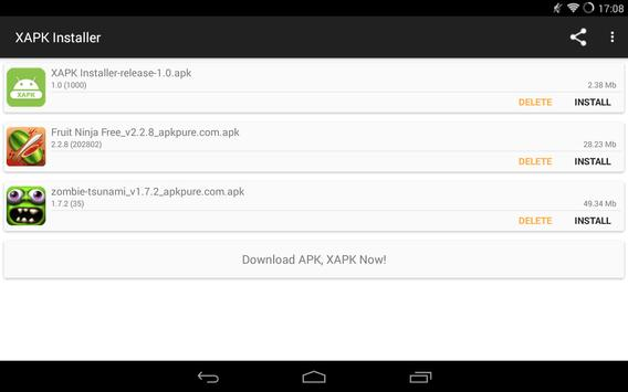 XAPK Instalador Original 2.2.2 Apk Download 9