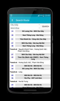 Hanoi Bus screenshot 5
