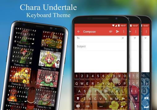 Chara Keyboard Theme screenshot 3