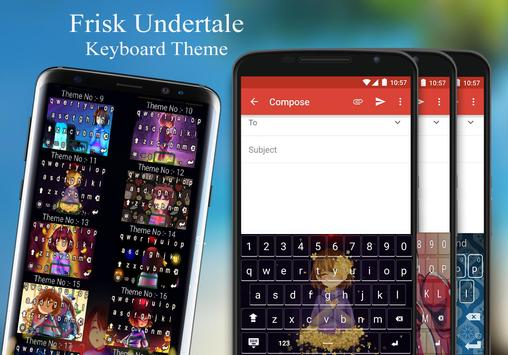 Frisk Keyboard Theme apk screenshot