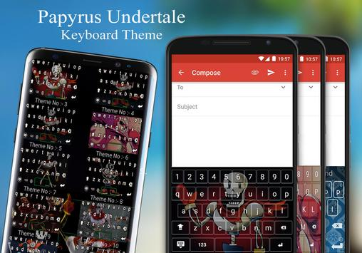 Papyrus Keyboard Theme screenshot 3