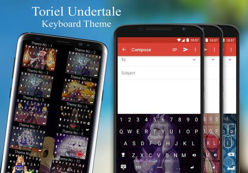 Toriel Keyboard Theme screenshot 2