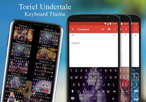 Toriel Keyboard Theme screenshot 5