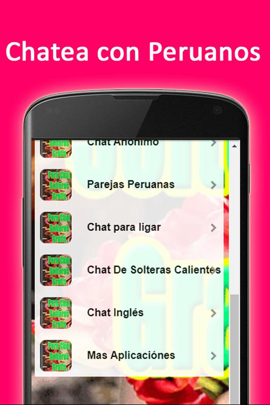 606a39934d18a Peru Chat solteros gratis for Android - APK Download