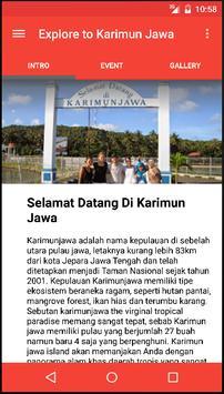 Explore To Karimun Jawa poster
