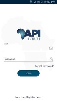 API Events poster