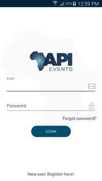 API Events poster