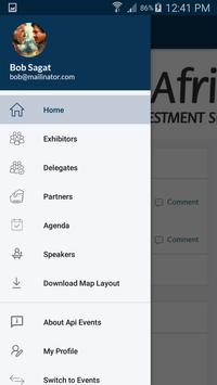 API Events screenshot 2