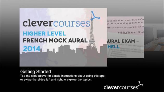 French Mock Aural poster