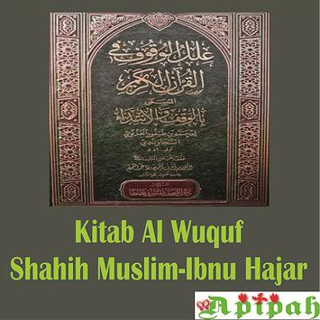 Kitab Al-Wuquf Shahih Muslim poster